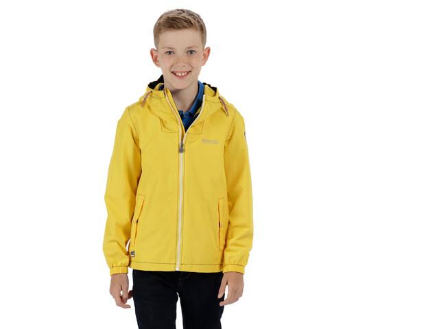 Regatta Henryson Jacket Kinder lifeguard yellow